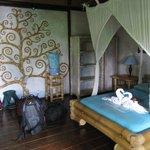 Wayan room - Delightful.