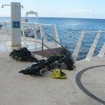 scuba diving at Aqua Safari