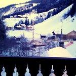 vista da camera sulla balconata