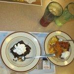 Eating at Dennis