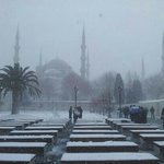 istanbul with snow