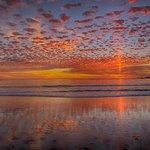 A recent Sunset on beautiful Carmel Beach