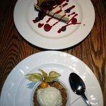 Cheesecake and crumble