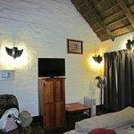 Chambre magnifique, avec un cachet africain