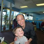 Owner Eric with our grandson