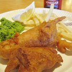 Fri night $13.oo all youcan eat FISH & Chips the best batter