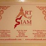 Art of Siam resmi