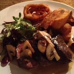 amazing steak from cows in the region