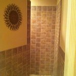 shower in morrocan suite