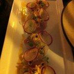 crab & sashimi