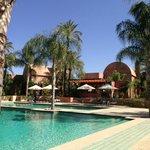 Heated Pool and Bar Area