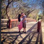 Making love on the bridge