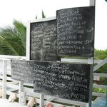 The Little Kitchen Menu board