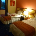 Twin room - double beds
