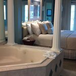Jacuzzi tub in bedroom!