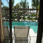 view from suite to swim out
