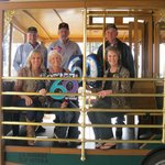 Caught the trolley in front of hotel to go wine tasting