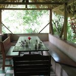 dining room attached to the guesthouse