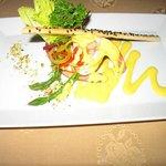 Shrimp appetizer at Canto del Mar