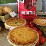 Lowcountry Produce Tomato and Tomato Onion Pies