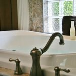 Extra deep soaker tubs in Vacation Rentals Grand Villas