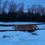 Outside area of the creek in Jan 2013