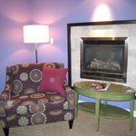 Gas fireplace (room 701)