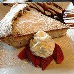 AMAZING homemade ricotta tart - a culinary masterpiece.