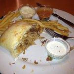 Cuban sandwich delish!