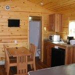 Inside Deluxe Cabin