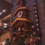 Clock in lower lobby