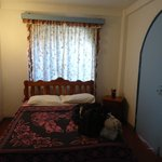 Bedroom in the Primavera Suite
