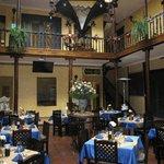 Atrium/restaurant in the lobby