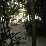 The beach from our Cabana