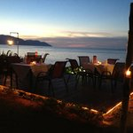 Romantic dining at Zaks By The Sea