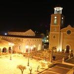 Plaza Real de noche