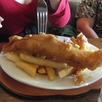 Whale and chips