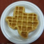 Texas shaped waffle maker.