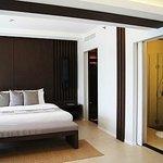 spacious bathroom and sizeable closet