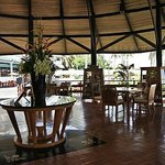 Round House with swimming pool and Café Andaman in backgroun