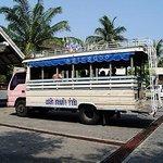 Cape Panwa's shuttle bus