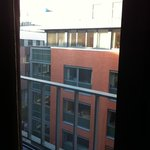 View of Canadian Embassy offices from bedroom