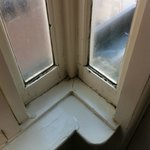window ledges damp and rotten