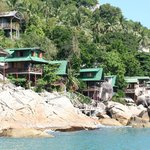 Bungalows on the rocks