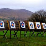 Archery with a view...even in winter!