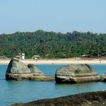 Agonda beach from the South
