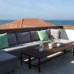Rooftop Ocean view lounge