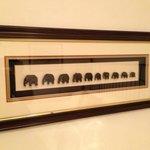 """Wandbild """"Afrika/Elefanten"""""""