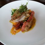 Superb fish at the Galley