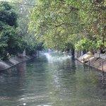 Canal waterways of bangkok